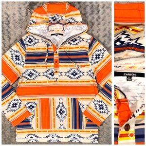 📦SOLD📦New! Men's Carbon Aztec hoodie paid $55